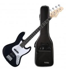 Rocktile Fatboy II Black Electric Bass incl. Gig Bag