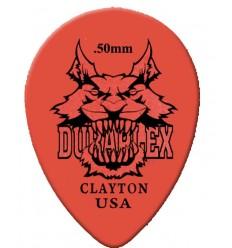 Clayton Duraplex Small Teardrop .50 mm