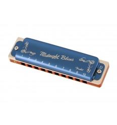 Fender Midnight Blues Harmonica, D
