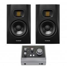 Pachet Adam Audio T5V + Audient ID4