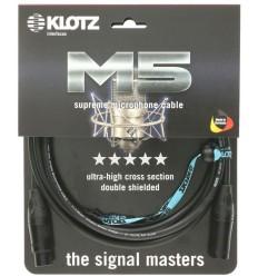 KLOTZ M5KBFM M5 Mic XLR 3m