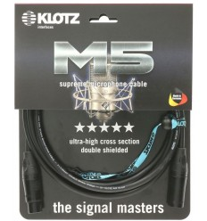 KLOTZ M5KBFM M5 Mic XLR 6m