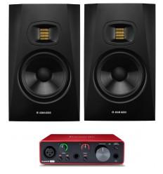 Pachete Zeedo Shop 2 x ADAM Audio T7V + Focusrite Scarlett Solo 3rd Gen