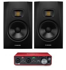 Pachete Zeedo Shop 2 x ADAM Audio T7V + Focusrite Scarlett 2i2 3rd Gen